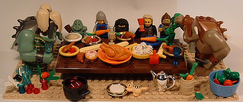 Thanksgiving at the Trolls with Legos