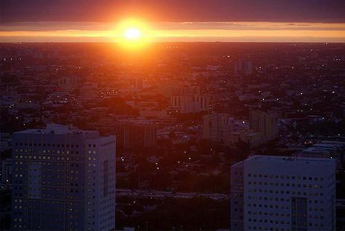 Miami Sunset Apocalypse