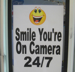 Smile! You are on Camera